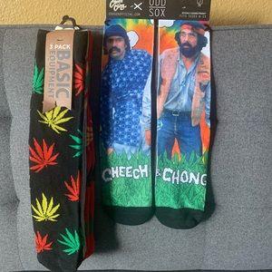 Cheech & Chong/Basic Equipment Crew Sock Bundle